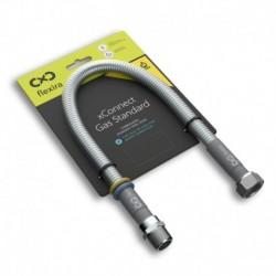 """Захранваща връзка за газ и вода Flexira xConnect Gas Standard R1/2""""-G1/2"""" – 50 см"""