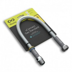 """Захранваща връзка за газ и вода Flexira xConnect Gas Standard R1/2""""-G1/2"""" – 150 см"""