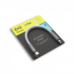 """Захранващ шланг за питейна вода на смесителна батерия Flexira xConnect Aqua G3/8""""-M10x1S – 80 см"""