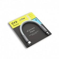 """Захранващ шланг за питейна вода на смесителна батерия Flexira xConnect Aqua G3/8""""-M10x1S – 120 см"""