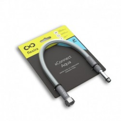 """Захранващ шланг за питейна вода на смесителна батерия Flexira xConnect Aqua G3/8""""-M10x1L – 40 см"""