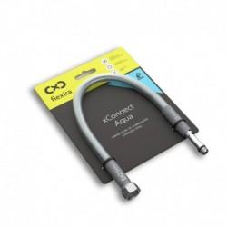 """Захранващ шланг за питейна вода на смесителна батерия Flexira xConnect Aqua G3/8""""-M10x1L – 60 см"""