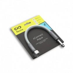 """Захранващ шланг за питейна вода на смесителна батерия Flexira xConnect Aqua G1/2""""-M10x1L – 40 см"""